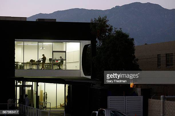 Michael Perez and Jason Chong are photographed inside Art Center College of Design South Campus as seen on July 1 in Pasadena. Perez is a 7th term...