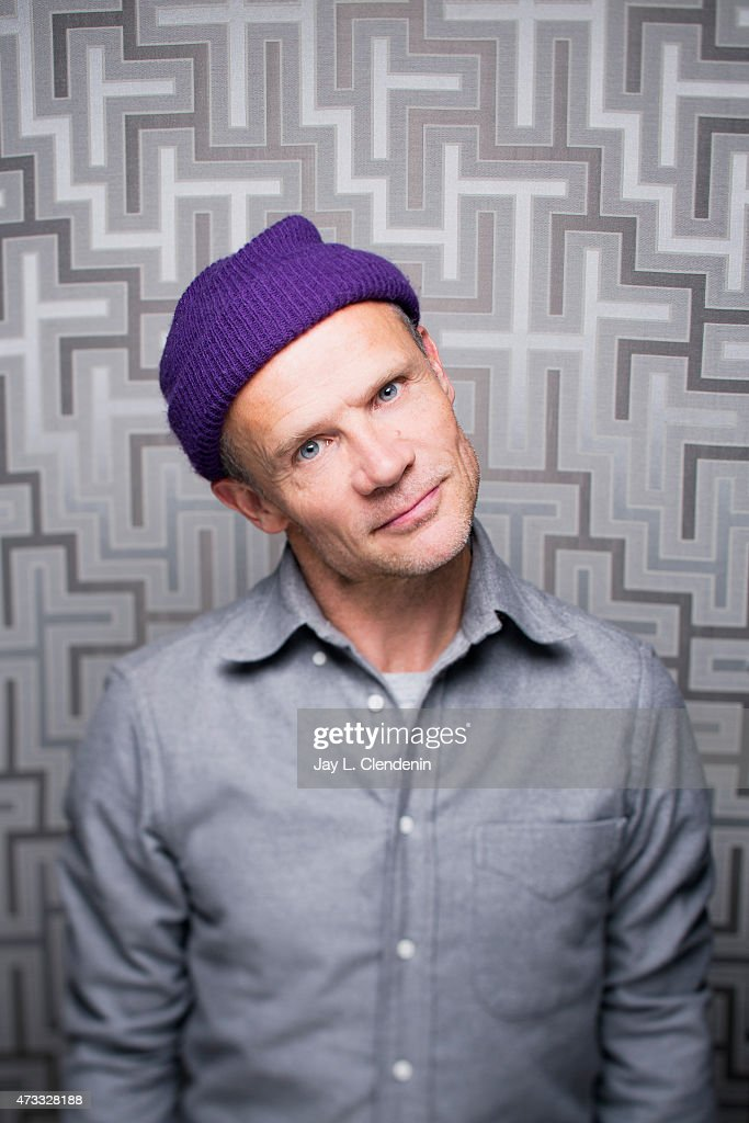 Michael Peter Balzary, better known by his stage name Flea is photographed for Los Angeles Times on January 18, 2014 in Park City, Utah. PUBLISHED IMAGE.