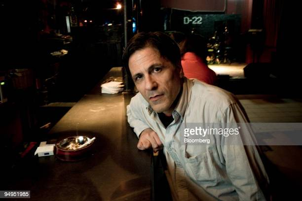 Michael Pettis owner of the nightclub D22 professor of finance at Peking University and former principal at Bear Stearns poses for a portrait in...