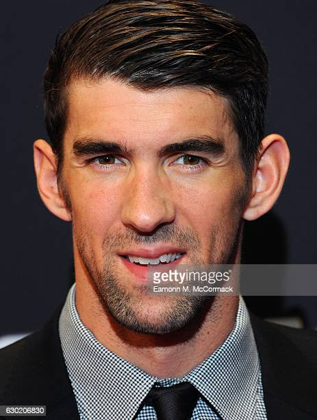 Michael Phelps attends the BBC Sports Personality Of The Year on December 18 2016 in Birmingham United Kingdom
