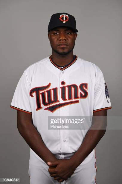 Michael Pineda of the Minnesota Twins poses during Photo Day on Wednesday February 21 2018 at CenturyLink Sports Complex in Fort Myers Florida
