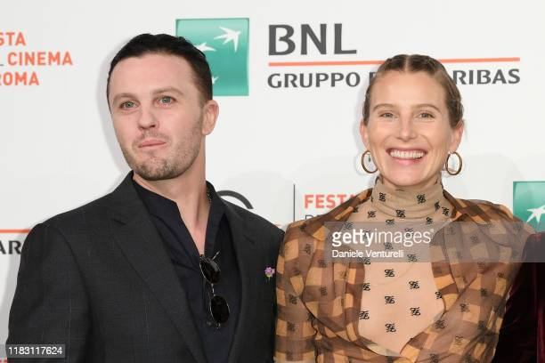 Michael Pitt and Dree Hemingway attends the photocall of the movie Run With the Hunted during the 14th Rome Film Festival on October 24 2019 in Rome...
