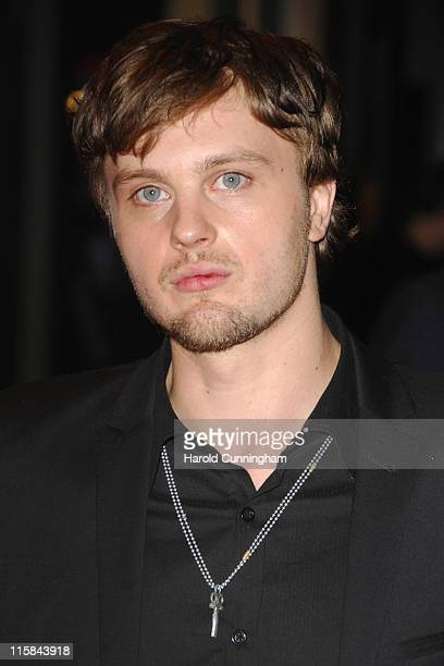 Michael Pitt arrives at the Funny Games premiere at the Odeon West End on October 20 2007 in London England