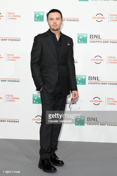 Michael Pitt attends the photocall of the movie Run With the Hunted during the 14th Rome Film Festival on October 24 2019 in Rome Italy