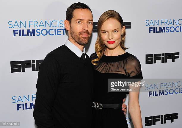 Michael Polich and Kate Bosworth attend the 'Big Sur' Premiere at the 56th San Francisco International Film Festival at Sundance Kabuki Cinema on...
