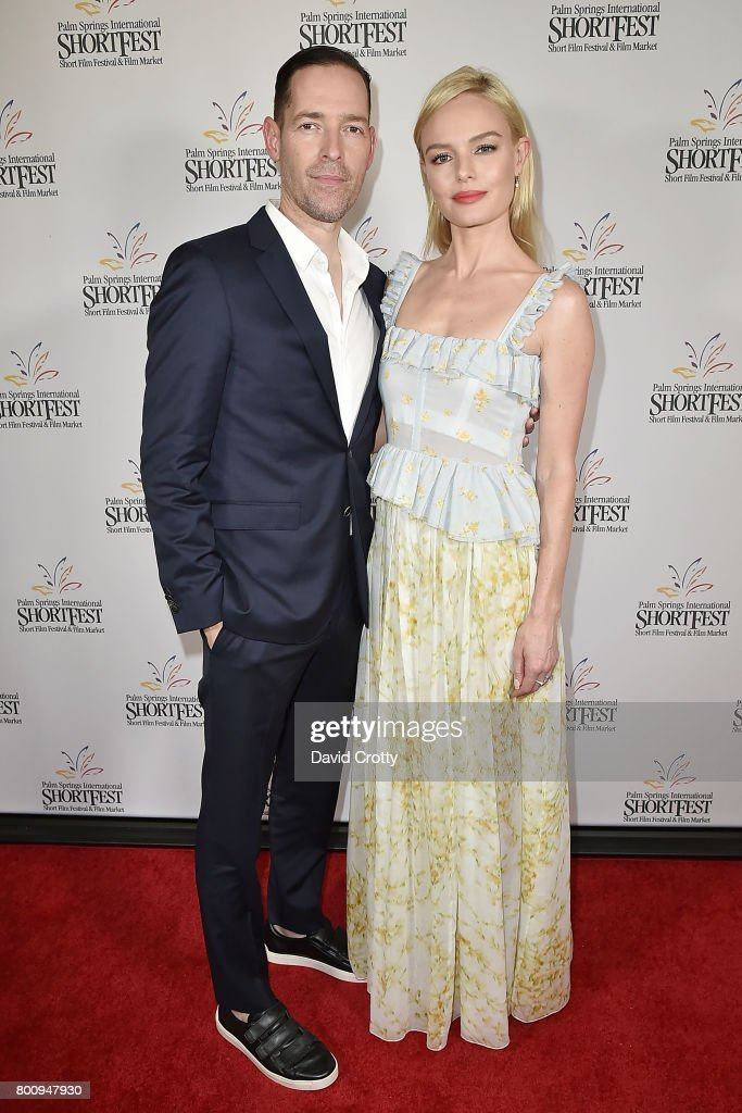 Michael Polish and Kate Bosworth attend the 2017 Palm Springs International Festival of Short Films - Awards Ceremony on June 25, 2017 in Palm Springs, California.