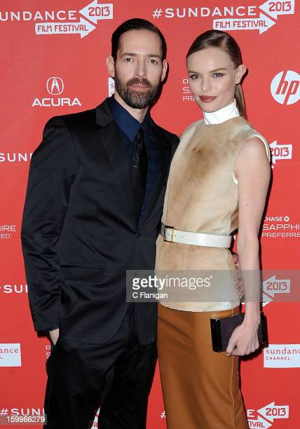 Michael Polish and Kate Bosworth attend the 'ACOD' Premiere during the 2013 Sundance Film Festival at Eccles Center Theatre on January 23 2013 in...