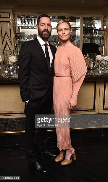 Michael Polish and Kate Bosworth attend the Christofle and Kate Bosworth Celebrate the Launch of Idole de Christofle The Brand's FirstEver Gold...