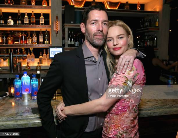 Michael Polish and Kate Bosworth attend the HFPA's and InStyle's Celebration of the 2018 Golden Globe Awards Season and the Unveiling of the Golden...