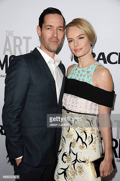 Michael Polish and Kate Bosworth attend the premiere of 'The Art of More' at Sony Pictures Studios on October 29 2015 in Culver City California