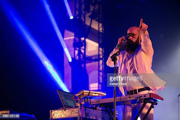 Michael Pope of Le Galaxie performs at Metropolis Festival at The RDS Concert Hall on November 7 2015 in Dublin Ireland