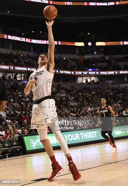 Michael Porter Jr #1of the boys west team during the 2017 McDonalds's All American Game on March 29 2017 at the United Center in Chicago Illinois