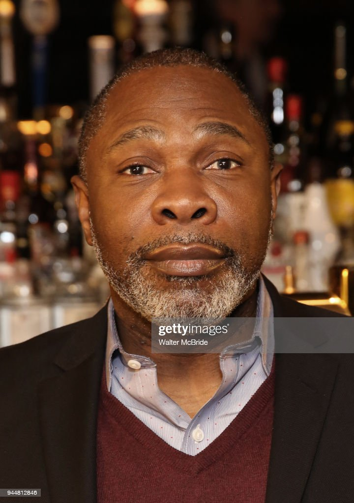 Michael Potts attends the Broadway cast of 'The Iceman Cometh' Press Photocall at Delmonico's on April 11, 2018 in New York City.