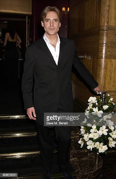 """Michael Praed attends the afterparty following the press night for """"Beautiful And Damned,"""" a new musical based on the lives of American novelist F..."""