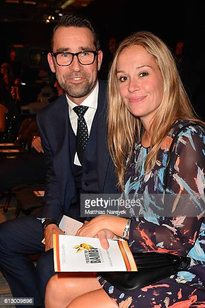 Michael Preetz and Kirsten Zophy attend the Tribute To Bambi after show party at Station on October 6 2016 in Berlin Germany