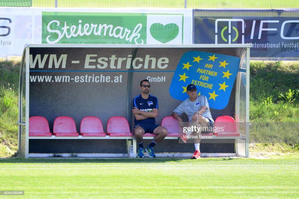 Hertha BSC training camp Schladming - day 3