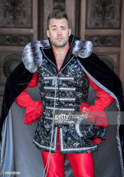 Michael Quinn attends the Beauty The Beast pantomime press launch at Waddesdon Manor Aylesbury