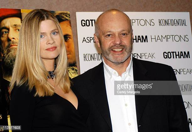 """Michael Radford, writer/director and wife during Gotham Magazine, Al Pacino and Sony Pictures Host the Premiere Party for """"The Merchant of Venice"""" -..."""