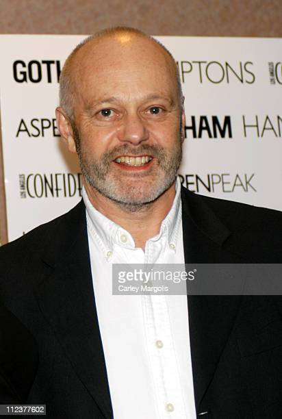 """Michael Radford, writer/director during Gotham Magazine, Al Pacino and Sony Pictures Host the Premiere Party for """"The Merchant of Venice"""" - Premiere..."""