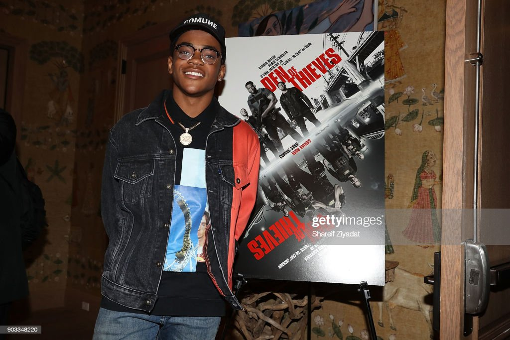 Michael Rainey Jr. attends 'Den Of Thieves' Private Screening at the Whitby Hotel on January 9, 2018 in New York City.