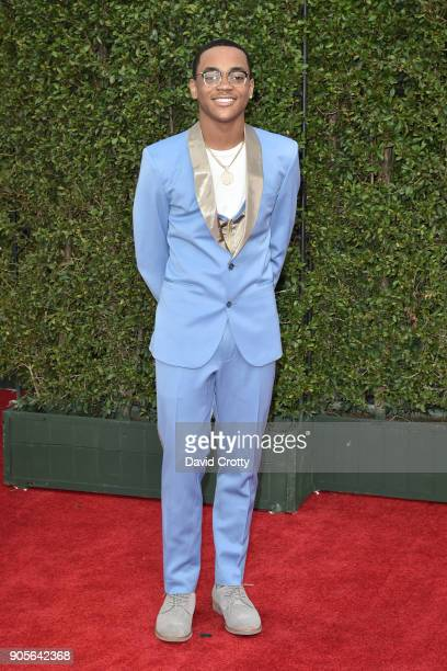 Michael Rainey Jr attends the 49th NAACP Image Awards Arrivals at Pasadena Civic Auditorium on January 15 2018 in Pasadena California