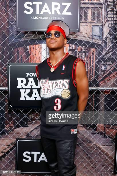 "Michael Rainey Jr. Attends the ""Power Book lll: Raising Kanan"" New York Premiere at Hammerstein Ballroom on July 15, 2021 in New York City."