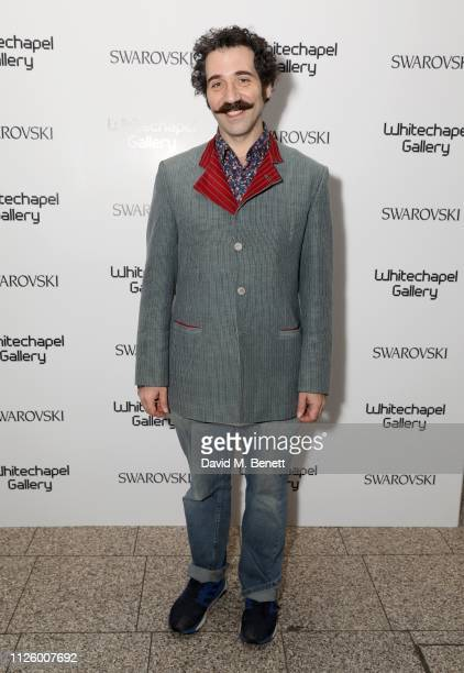 Michael Rakowitz attends a glamorous gala dinner at Whitechapel Gallery as Rachel Whiteread is celebrated as the recipient of the Whitechapel Gallery...