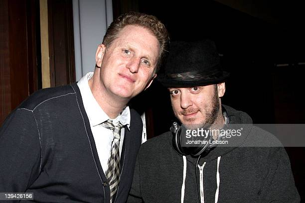 Michael Rapaport and Adam 12 attend the Beats Rhymes And Life Grammy Party Hosted By Om Films And Michael Rapaport at Crown Bar on February 11 2012...