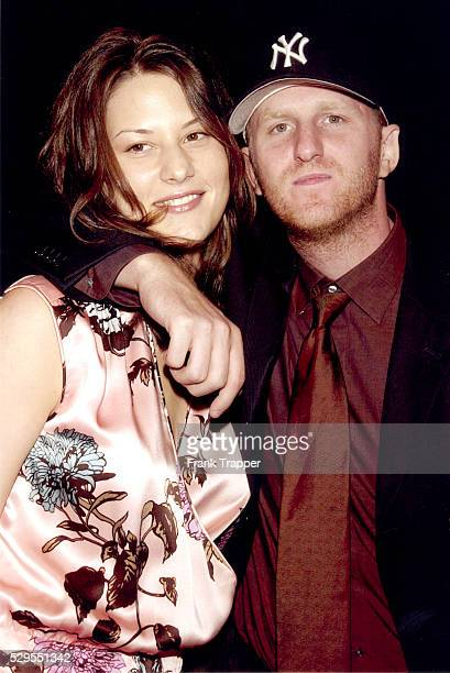 Michael Rapaport and his wife arriving at the world premiere of Paramount Pictures Lucky Numbers held at Paramount Pictures Studio Theatre