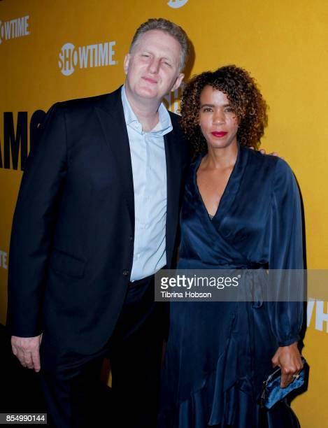 Michael Rapaport and his wife attend the premiere of Showtime's 'White Famous' at The Jeremy Hotel on September 27 2017 in West Hollywood California