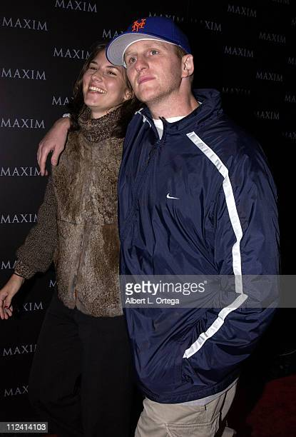 Michael Rapaport and wife during Live Performance by The Pussycat Dolls Hosted by Maxim Magazine Arrivals at The Henry Fonda Theater in Hollywood...