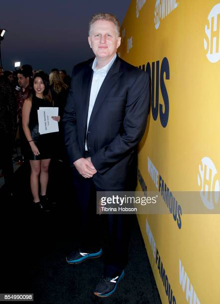 Michael Rapaport attends the premiere of Showtime's 'White Famous' at The Jeremy Hotel on September 27 2017 in West Hollywood California