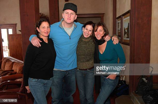 Michael Rapaport Debra Koffler June Brody and Samara Koffler Producer of Stephanie Daley at The North Face House *Exclusive Coverage*