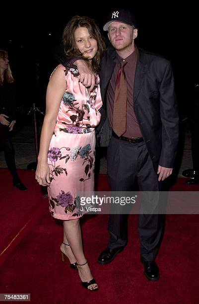 Michael Rapaport Wife Nicole at the Paramount Pictures in Hollywood California