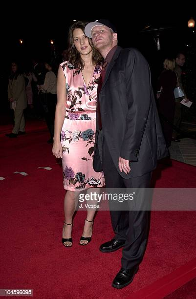 Michael Rapaport Wife Nicole during Lucky Numbers Los Angeles Premiere at Paramount Pictures in Hollywood California United States