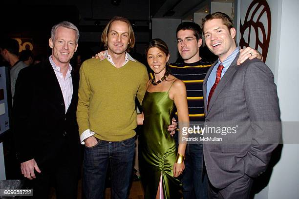Michael Rawson Andrew Brunger Sally Randall Brunger Zak Profera and Lincoln Palsgrove IV attend KolDesign/BoConcept 5th Annual Holiday Party at...