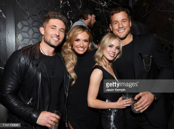 Michael Ray Carly Pearce Cassie Randolph and Colton Underwood are seen as Big Machine Label Group Celebrates the 54th Annual ACM Awards at Hakkasan...