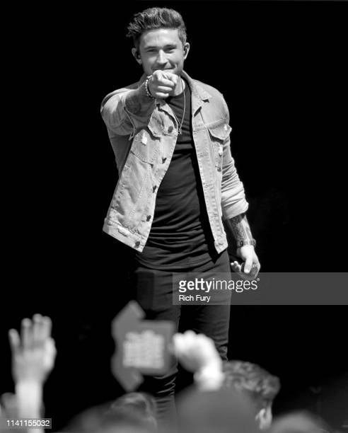 Michael Ray performs live during the Daytime Village at the 2019 iHeartCountry Festival Presented by Capital One at the Frank Erwin Center on May 4...