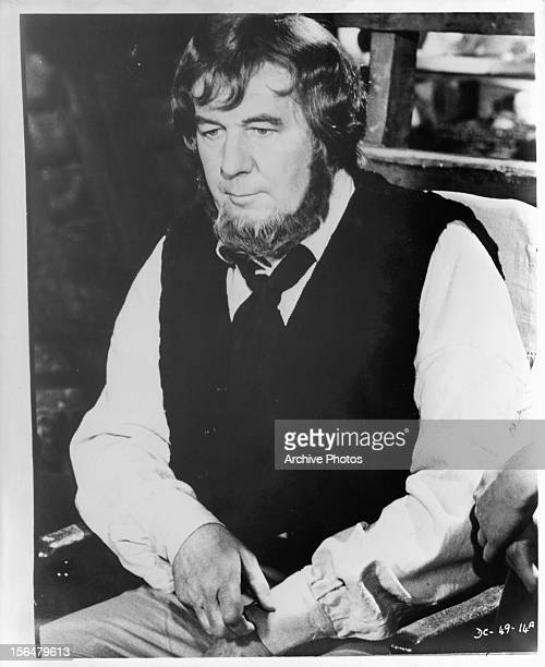 Michael Redgrave in publicity portrait for the television film 'David Copperfield' 1969