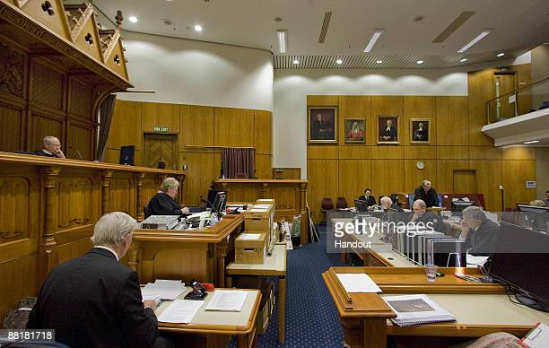 Michael Reed QC closes the defence case during the continuation of David Bain's retrial at Christchurch High Court on June 3 2009 in Christchurch New...