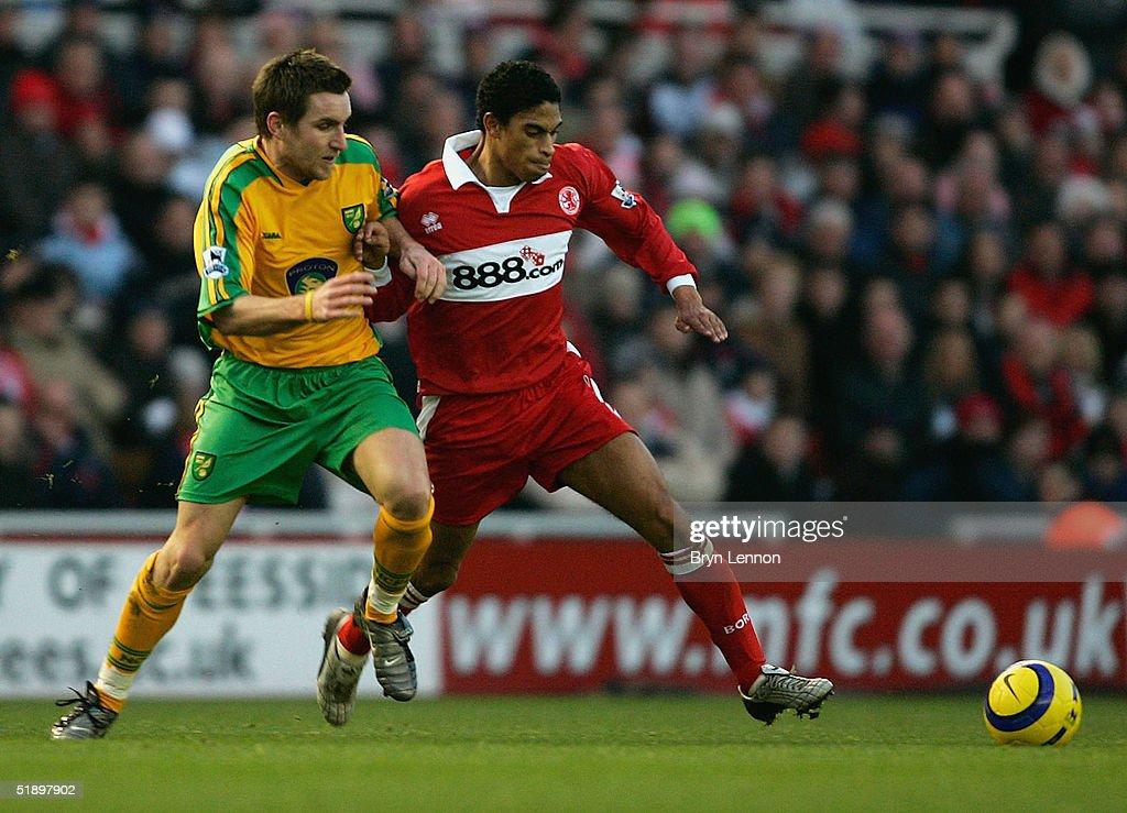 Middlesbrough v Norwich : News Photo
