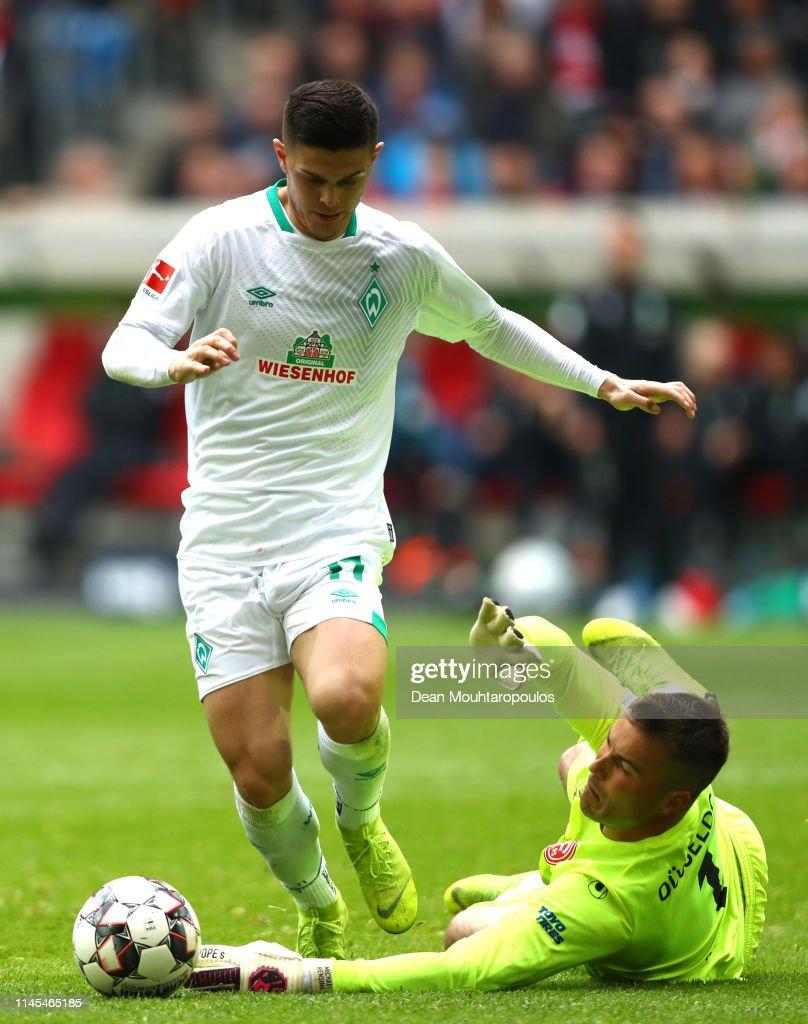 DEU: Fortuna Duesseldorf v SV Werder Bremen - Bundesliga