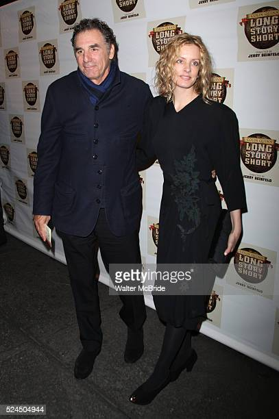 Michael Richards and his fiance Beth Skipp arrives at the Opening Night Performance of Long Story Short Starring Colin Quinn at the Helen Hayes...