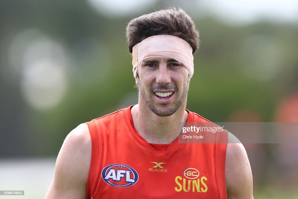 Gold Coast Suns Training Session : News Photo