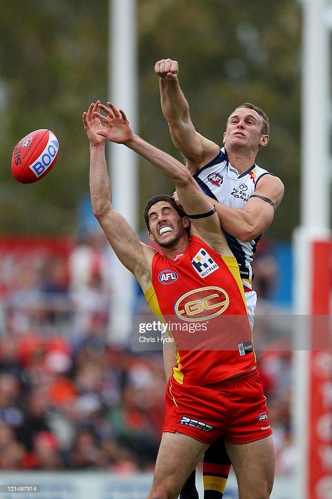 AFL Rd 22 - Gold Coast v Adelaide