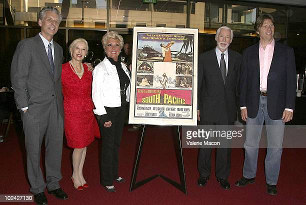 Michael Ritchie France Nuyen Mitzi Gaynor John Kerr and Rod Gilfry attend AMPAS Screening Of Restored 70mm Print Of South Pacific on June 25 2010 in...