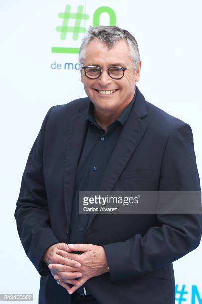 Michael Robinson attends the presentation of new season of by Movistar at the at the Escoriaza Esquivel Palace during the FesTVal 2017 on September 6...