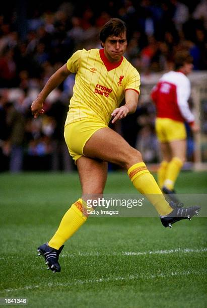 Michael Robinson of Liverpool Mandatory Credit Allsport UK /Allsport