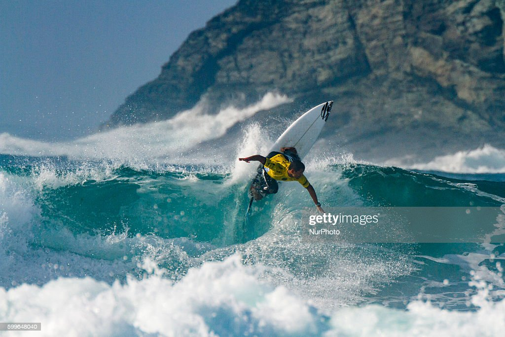 Michael Rodrigues during Pantin Classic Galicia Pro 2016, Qualifying Series 6,000 of World Surf League (WSL) celebrated in the Pantin beach, A Coruña, Galicia, Spain on 30 August - 4 September, 2016.