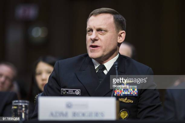 Michael Rogers director of the National Security Agency testifies during a Senate Intelligence Committee hearing on worldwide threats in Washington...